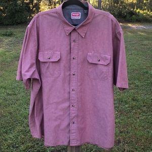Wrangler Men's Button Down Shirt